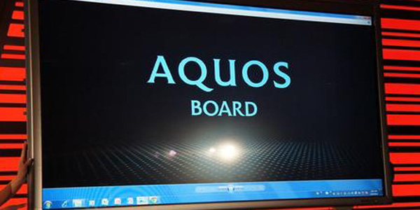 "Sharp Aquos 80"" Touchscreen"