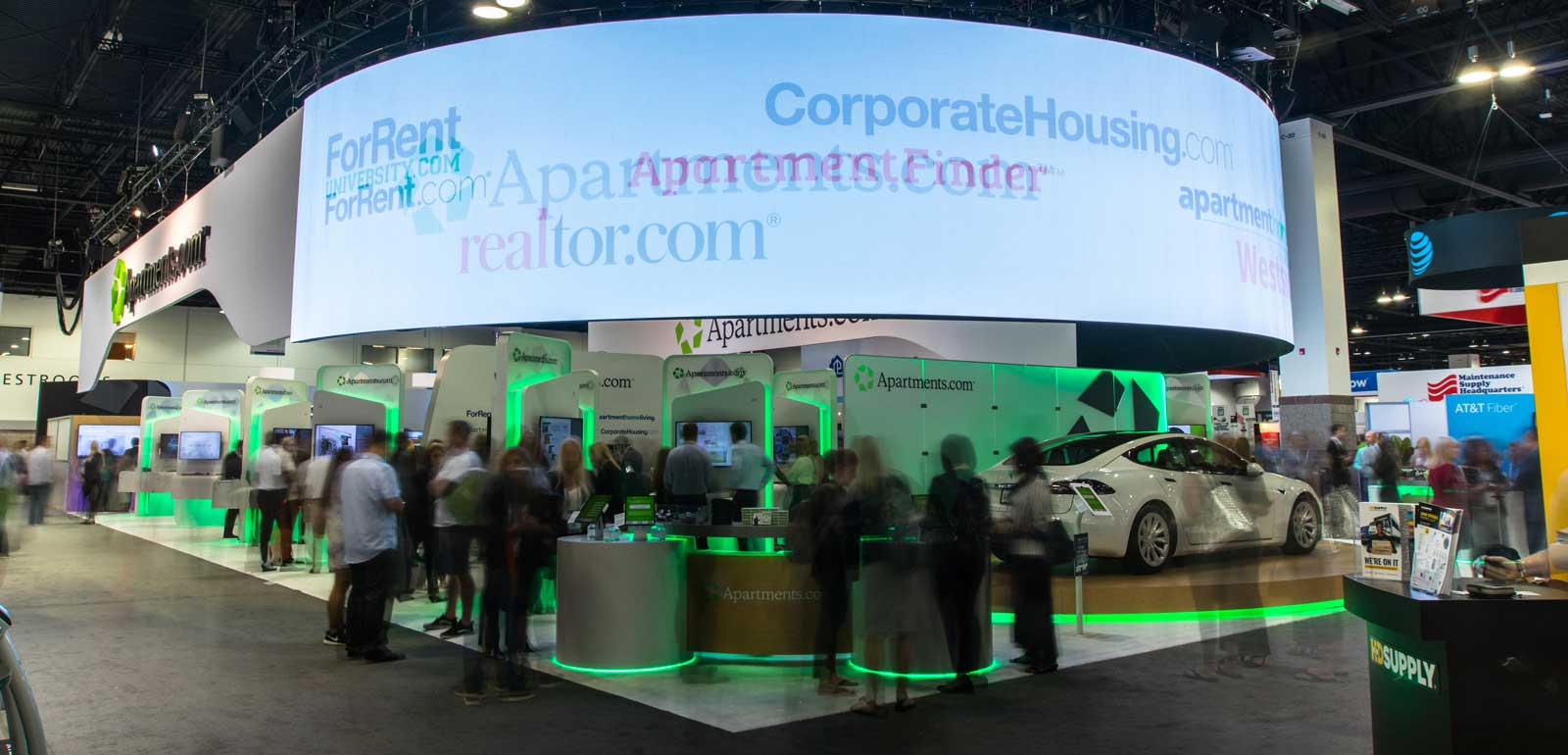 Benefit of Video Walls in Trade Show Booths